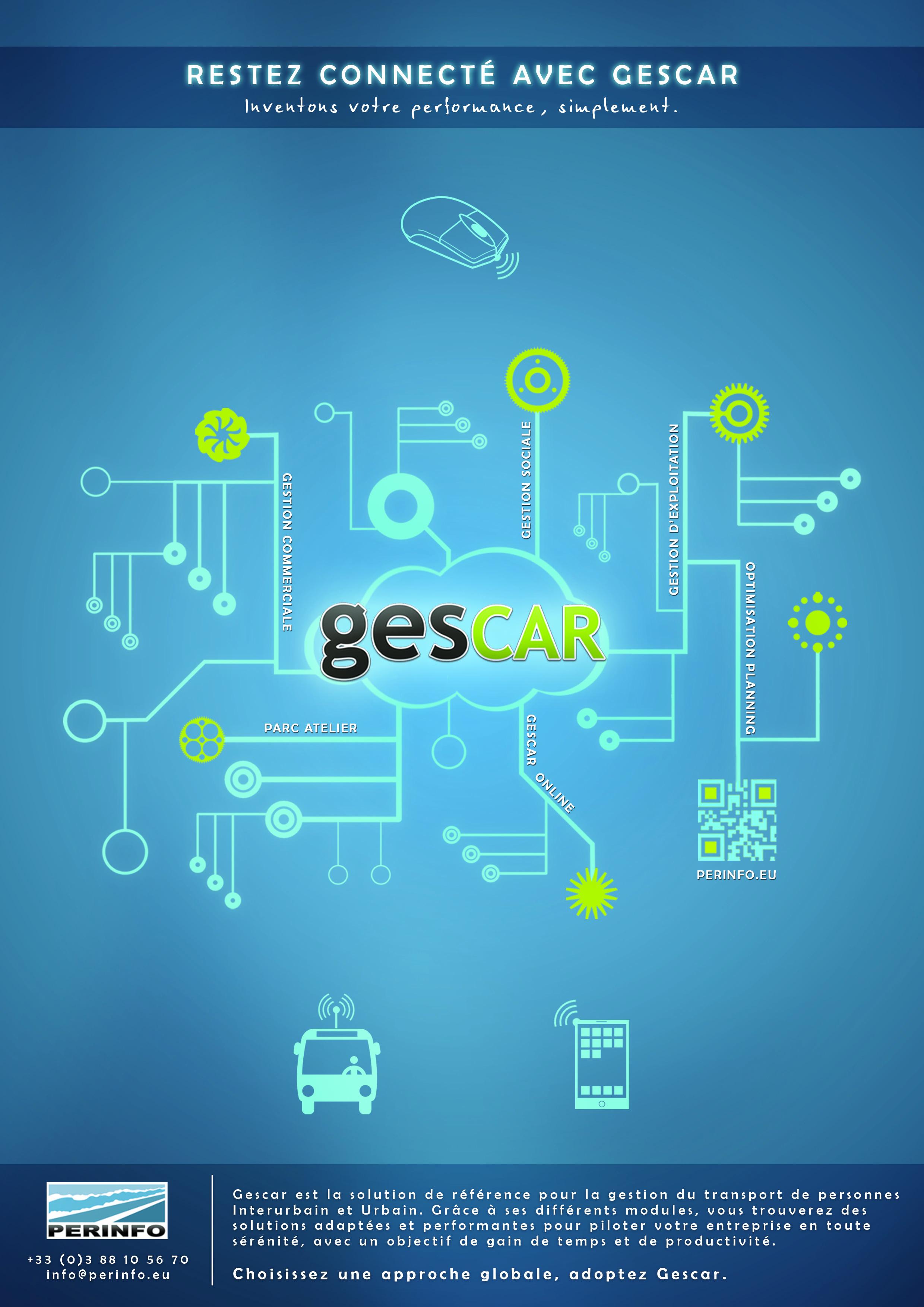 Restez connecté avec Gescar