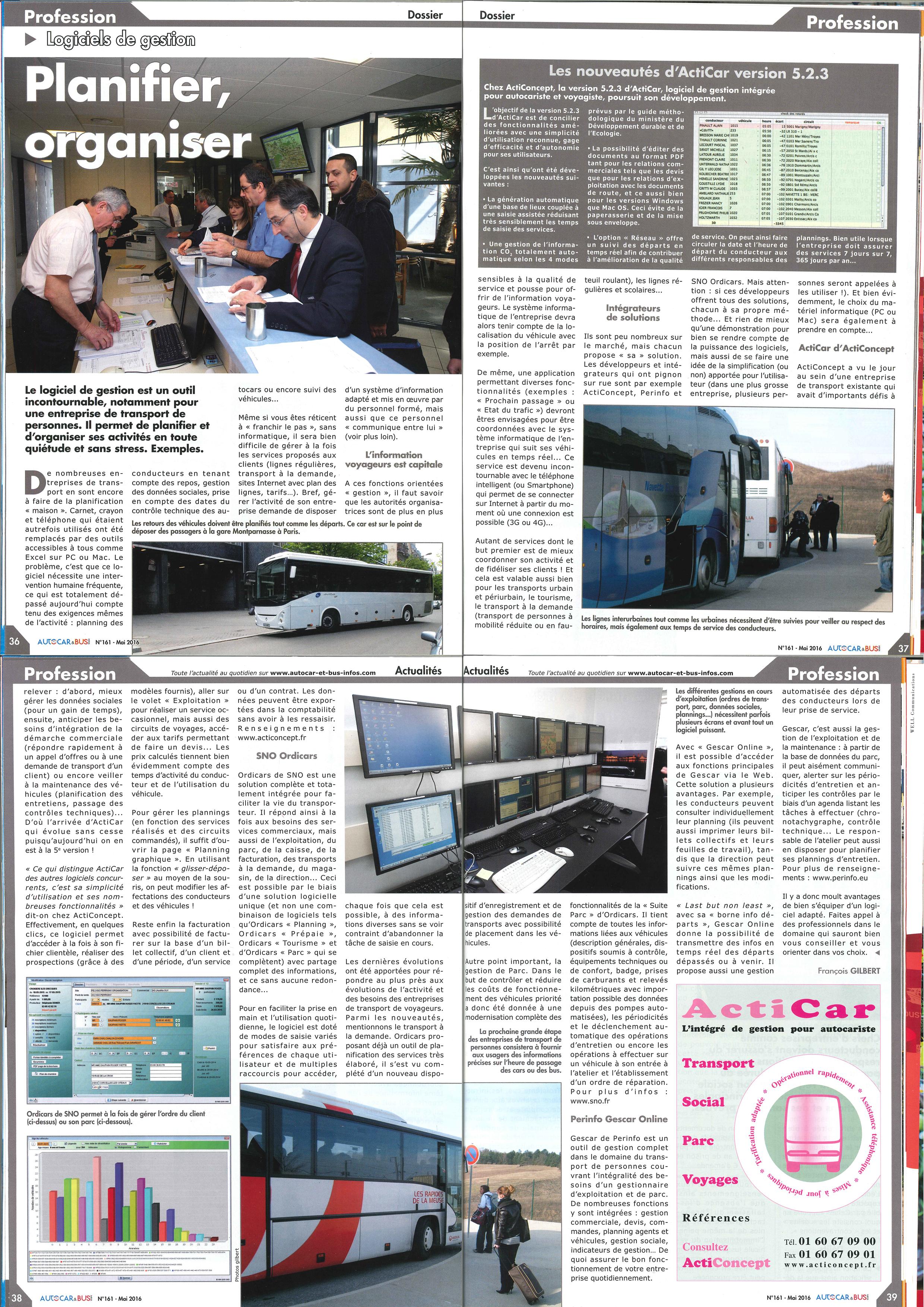Autocars et Bus Infos